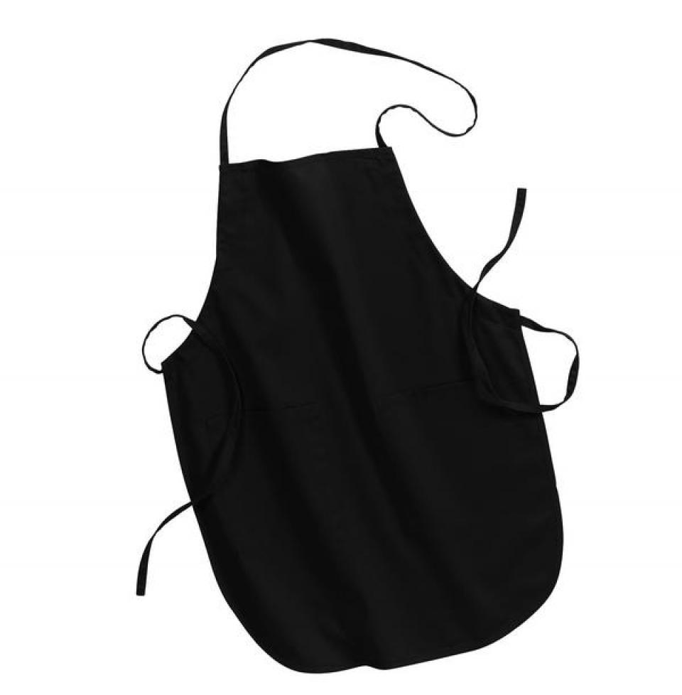 White apron black hands - Full Length Apron