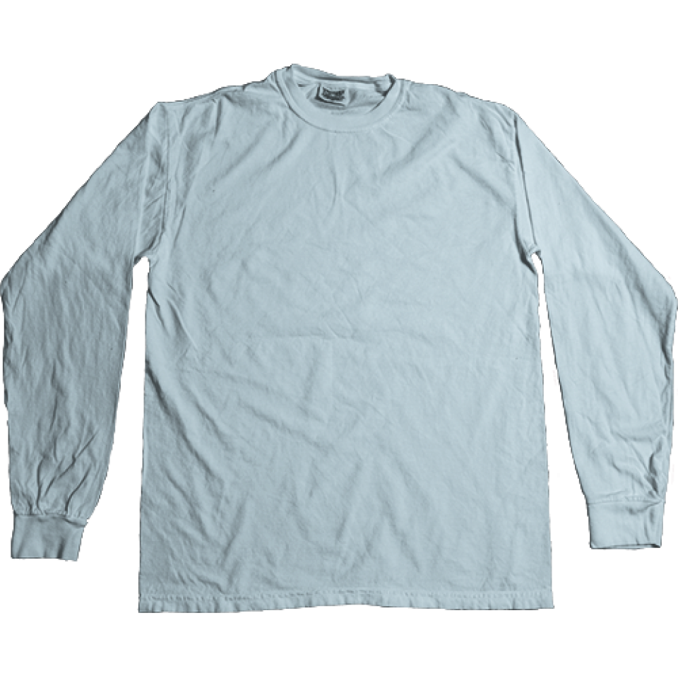 7942240e Comfort Colors Long Sleeve Tee. Pigment-Dyed Ringspun Long Sleeve Tee